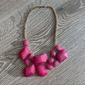 Jewelry - Magenta Statement Necklace